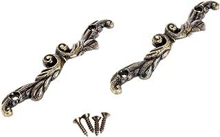 Best antique brass chest handles Reviews