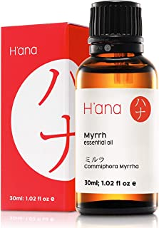 H'ana Myrrh Essential Oil - Get Into The Perfect Zen - 100% Pure Therapeutic Grade for Aromatherapy & Topical Use - 30ml
