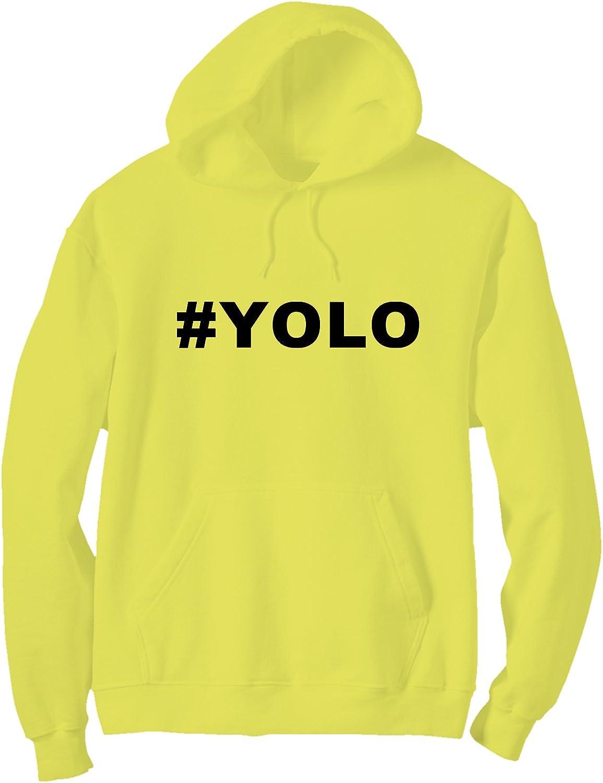 zerogravitee #YOLO Bright Neon Adult Pullover Hoodie - 6 Bright Colors