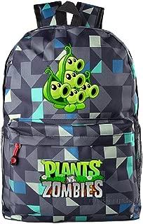Cute Plants Zombie Hot Game Bookbag Backpack School Shoulder Bag(18 Styles)