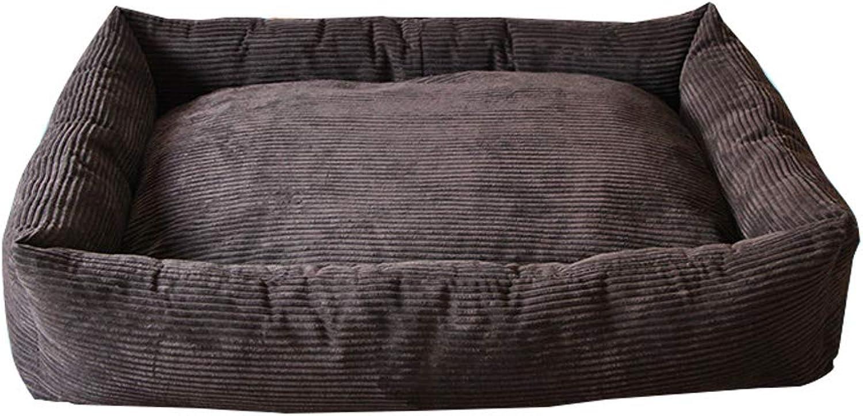 Kennel QIQIDEDIAN Comfortable Warm Dog Bed golden Retriever Husky Alaska Super Large Dog Pet