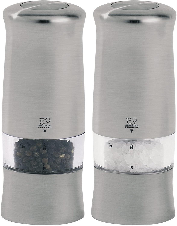 Peugeot 2 28480 28480 28480 elektrisches Pfeffer- und Salzmühlenset, Zeli Duo in der Geschenkkartonage B009PKG1XQ d6afa9