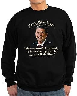 Ronald Reagan Govt.'s Duty Sweatshirt (Dark) - Classic Crew Neck Sweatshirt