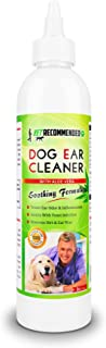 Vet Recommended Dog Ear Cleanser with Natural Aloe Vera for Dog Ear Infection (8oz/240ml). Perfect Dog Ear Cleaner for Yeast Infection and Bacteria - Made in USA