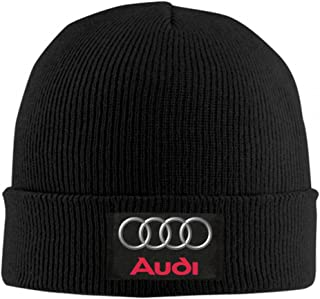 Beanie Hats Au-di Logo Skull Cap Cuffed Plain Cuff Knitted Slouchy Hats for Men Women