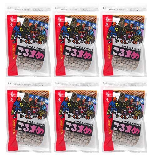 武双庵 こるまめ 熊本伝統の干し納豆 70g入×6個パック(計420g) [kr6]