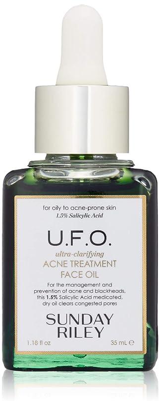 バーベキュー性差別一方、Sunday Riley U.F.O. Ultra-Clarifying Face Oil 35ml/1.18 Fl. Oz サンデーライリー UFOフェイスオイル