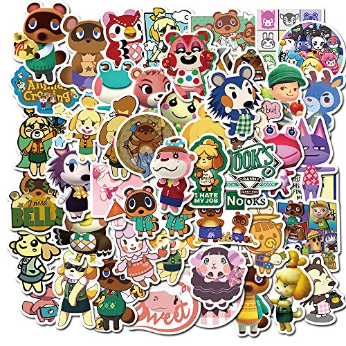FENGHU Tierkreuzungsaufkleber Spielaufkleber CS Animal Crossing Apex Hero Super Mario Helm Gepäck Motorrad Körper Wasserdichter Aufkleber