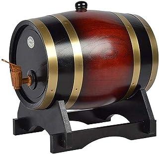 Vin tonneau en bois de chêne, Baril De Vin En Chêne De Haute Qualité, Baril De Vin Distributeur Baril De Bière Whisky Viei...