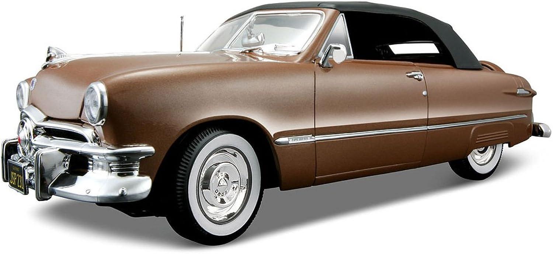 Maisto 1 18 Scale Metallic Red 1950 Ford
