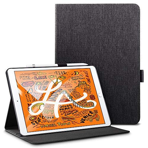 ESR Case for iPad mini 5 2019, Urban Premium Folio Case, Book Cover Design, Multi-Angle Viewing Stand, Smart Cover Auto Sleep/Wake, Black