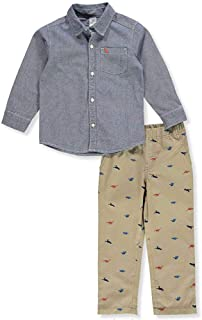 Carter's Boys' 2 Pc Playwear Sets 249g395 - Blue - 3T