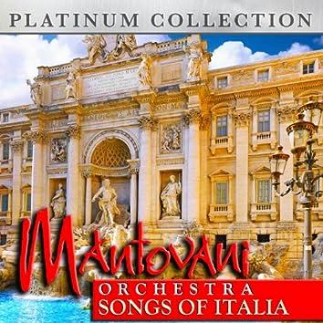 Mantovani Orchestra - Songs of Italia