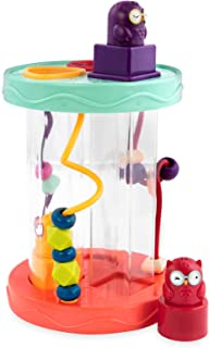 B. toys – Shape Sorter – Sorting Toy with 3 Owls – Colorful Shapes, Bead Maze & Fun Sounds – Developmental & Educational G...