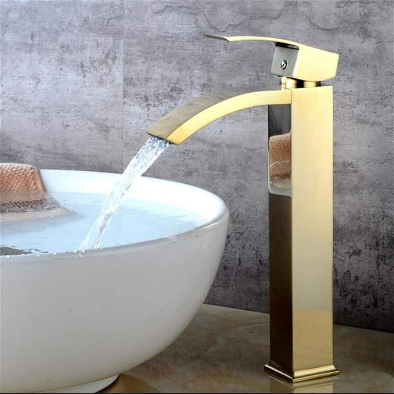 Bathroom Faucet Bathroom Basin Mixer Tap with Hot and Cold Water Crane