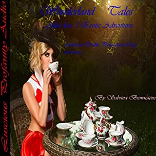Wonderland Tales: Alice Has 5 Erotic Adventures     Lesbian,Double Penetration, Orgy and More....              By:                                                                                                                                 Sabrina Brownstone                               Narrated by:                                                                                                                                 Sabrina Brownstone                      Length: 1 hr and 6 mins     14 ratings     Overall 4.1