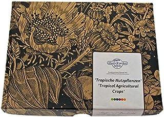 Magic Garden Seeds Cultivos Tropicales: Café, plátano, maracuyá, arroz y té - Semillas-Set de Regalo con 5 Plantas exótica...