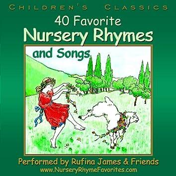 40 Favorite Nursery Rhymes and Songs