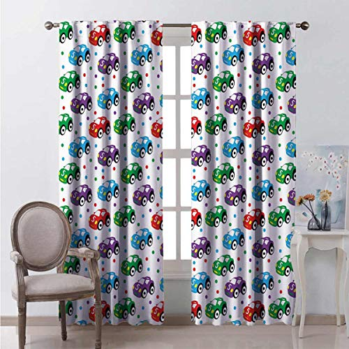 Wear-resistant color curtain Kids Toys for Play Time Waterproof fabric W84 x L96 Inch