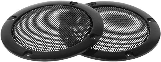 GUINV 2PCS Speaker Grills 3