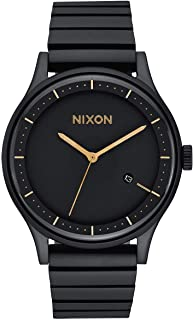 Nixon Station Watch One Size Matte Black Gold