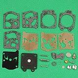 Matino Piezas de repuesto asequibles para kit de reparación de carburador Huq para Homelite 290 300 340 240 245 250 carb motosierra