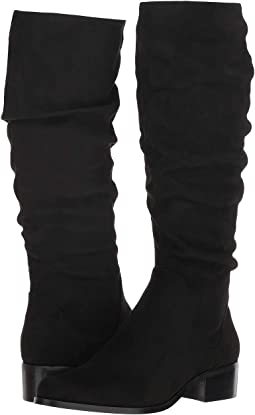 Black Stretch Microsuede