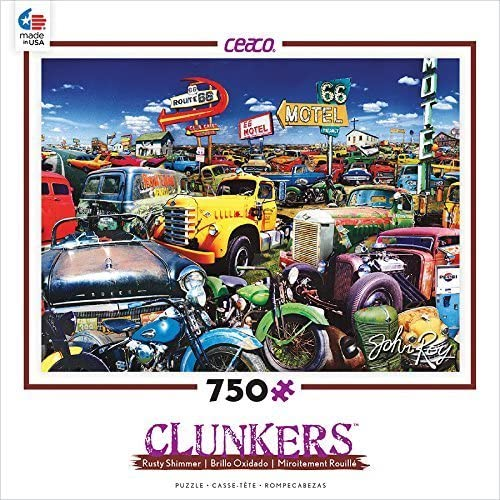 Ceaco Clunkers - Double 6 Route Puzzle by Ceaco