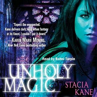 Unholy Magic audiobook cover art