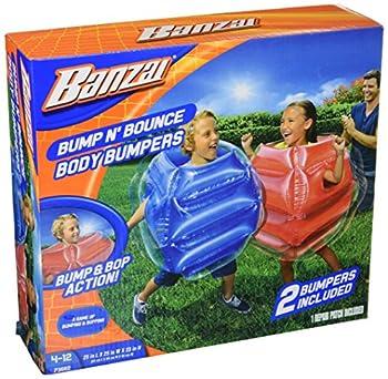 Banzai Bump N Bounce Body Bumpers N Red Blue 2 Bumpers