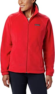 Women's Benton Springs Full Zip Jacket, Soft Fleece with Classic Fit