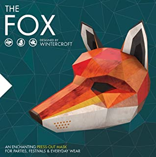 The Fox: An Enchanting Press-Out Mask for Parties, Festivals & Everyday Wear