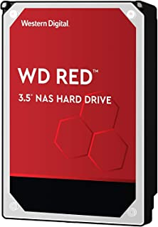WD Red 6TB NAS Internal Hard Drive – 5400 RPM Class, SATA 6 Gb/s, 256MB Cache,..