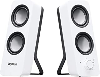 Logitech Z200 2.0 Altavoces Estéreo, 10 Vatios, Sonido Estéreo Detallado, Graves Ajustables, Conexión 2 Dispositivos, Entr...