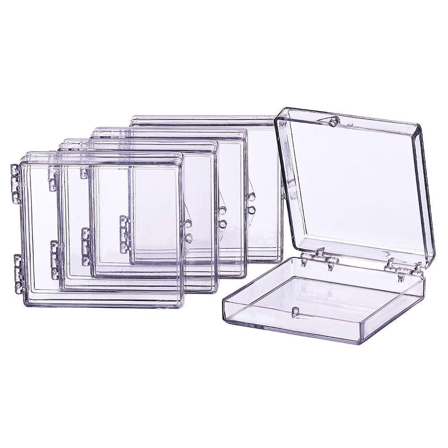 実際に概して効率的収納ケースパーツ収納ケース詰め替え容器小物用収納ボックス立方体セットプラスチック小分けケース透明度高