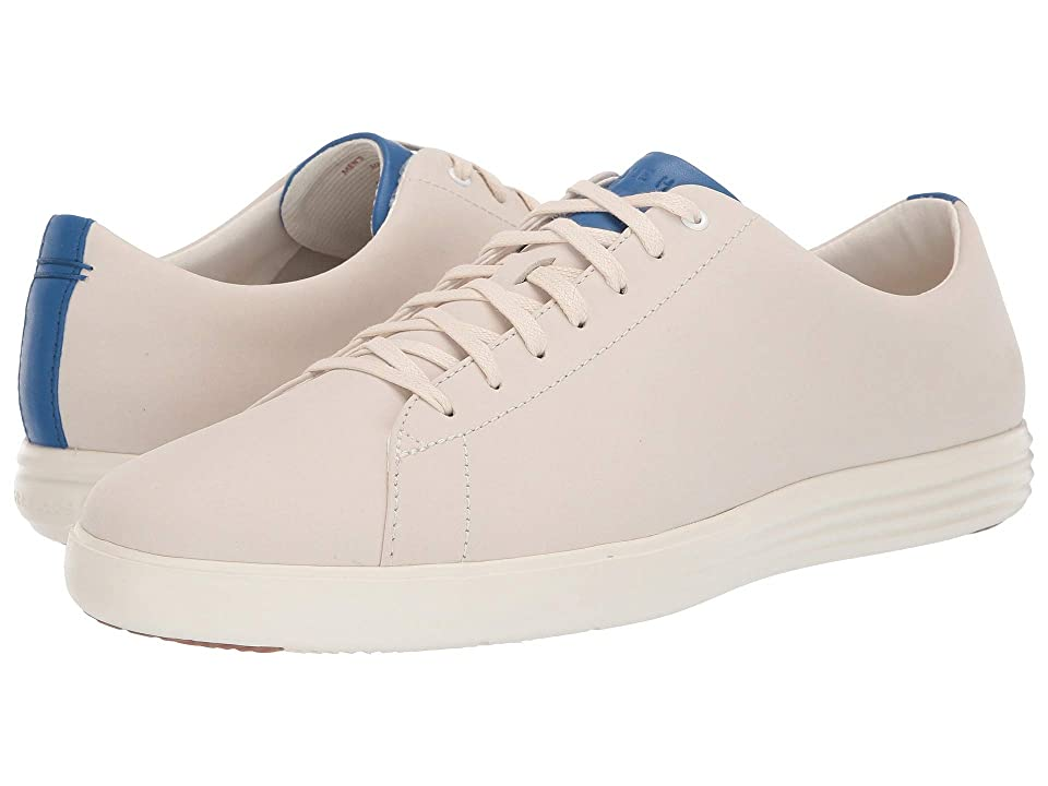 Cole Haan Grand Crosscourt Sneaker (Optic White Nubuck/Nautical Blue) Men