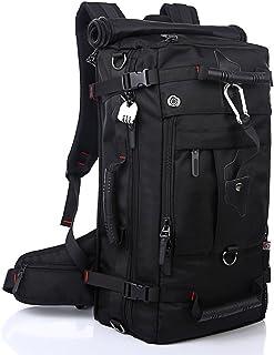 Asies Mochila de Senderismo Macutos Deporte al Aire Libre Viaje de 40L, 3 en 1 como Mochila, Bolsa de Hombro y de Mano, Backpack para Portátil 17