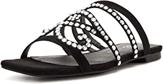 Katy Perry The Anat Jeweled Flat Sandal womens Slide Sandal