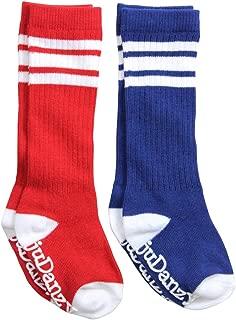 Knee High Tube Socks for Boys, Girls, Baby, Toddler and Child (2 Pack)