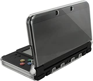 Orzly - InvisiCase for New 3DS Console (2015 Model) - 100% Clear Protective Cover Shell for The New 2015 Model of Nintendo 3DS Handheld Games Console (New 3DS / N3DS) - Transparent
