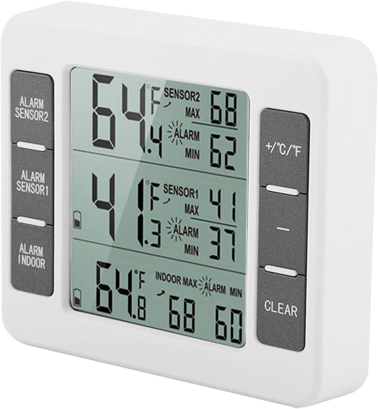 Freezer Room Seasonal Wrap Introduction Refrigerator Import Audible Alarm Hom Digital for Kitchen