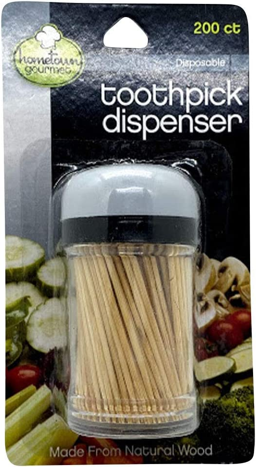 Hometown Courier shipping free Gourmet Disposable Toothpick Dispenser Our shop most popular CT - 200