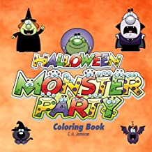 Halloween Monster Party Coloring Book