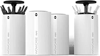 1pc Wowstick Screwdriver Portable Wowcase Mini Screwdriver Bits Head Storage Box Holder Base Tray for Xiaomi 1S 1F 1P Power Electric Screwdriver (1PC WOWCASE)