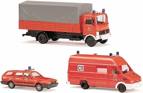 Busch 49924 - Set Feuerwehr Berlin