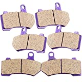 TUPARTS Front and Rear Brake Pads FA409 Fit for 2008-2017...