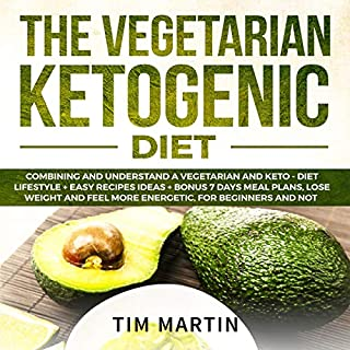 Vegetarian Ketogenic Diet audiobook cover art