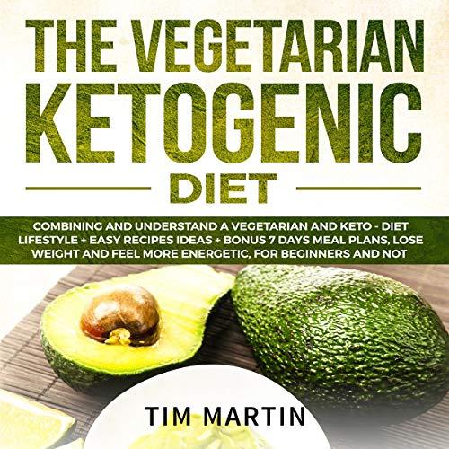 Vegetarian Ketogenic Diet audiobook cover art