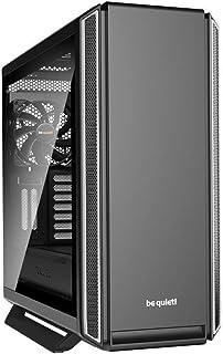 be quiet! Torre E-ATX Silent Base 801 Window Silve 3 Ventiladores/INSONORIZADA/Cristal Templado BGW30
