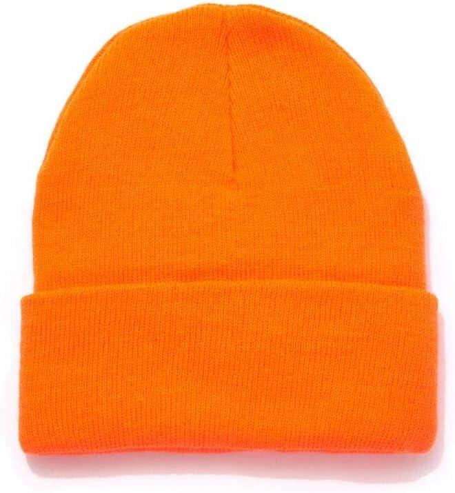 Orange Knitted Beanie